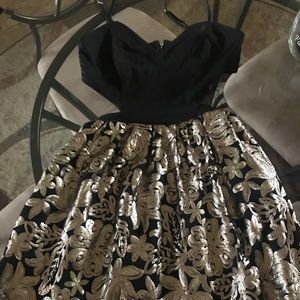 Dresses & Skirts - Cut out sequin dress size small